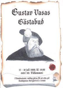 Affisch Gustav Vasa