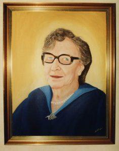 Akrylmålning Mormor