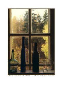 Guld fönster i skönvik