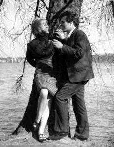 Reklamfoto för Cigarill med modell Marika Kiesow (Weinberg)