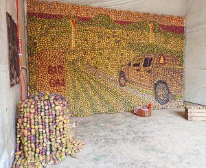 Potatiskonst, kartoffelkunst, potatosart